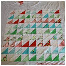 Planning a Quilt for Craft Retreat • The Crafty Mummy & Christmas triangles quilt Adamdwight.com