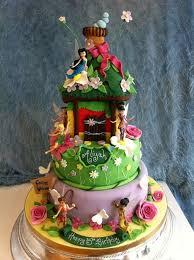 Gorgeus Tinkerbell Birthday Cake Ideas Creapptclub