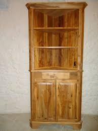 Vintage Corner Cabinet Custom Made Apple Wood Corner Cabinet By Galusha Tiles And