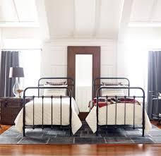 twin platform bed. Kingsley Vintage Black Iron Twin Platform Bed Frame N