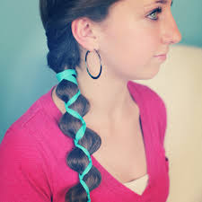 Crazy Hair Style ribbonaccented loony braid hairstyle ideas cute girls hairstyles 4604 by wearticles.com