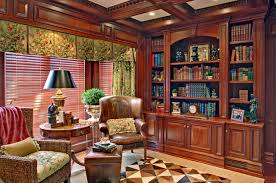 Traditional Home Office Design Interesting Far Hills Home Library And Office
