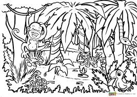 colouring for children. Perfect Colouring Did You Like This Printable Jungle Coloring For Adults And Kids Why Not  Follow The Blog So Donu0027t Miss Next One In Series Of Pages  With Colouring For Children L