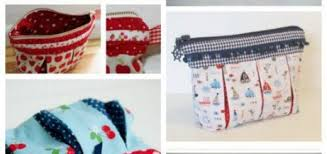 fabric handmade bag susie box folded cosmetic bag free sewing pattern and video in english