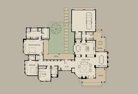 shaped house plans courtyard home architectural design building florida design 1