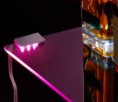 Led Rgb Glass Edge Lighting Clips Torchstar Led Decorative Lights With Ir Remote Led Glass
