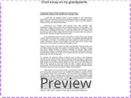 short essay on my grandparents homework help short essay on my grandparents browse and short essay on my grandparents for kids