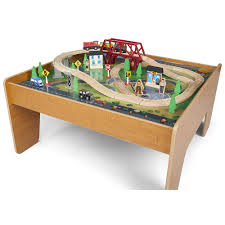Train Set Table With Drawers Imaginarium Train Set With Table 55 Piece Toysrus