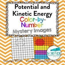 Potential And Kinetic Energy Color By Number By Science Teaching