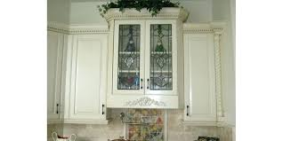 kitchen cabinets glass doors cabinet replacement inserts overhead cupboards with white wall