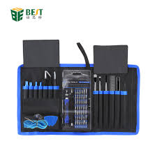 best 119b universal pro hand diy cell phone laptop pc repair household precision driver set kit
