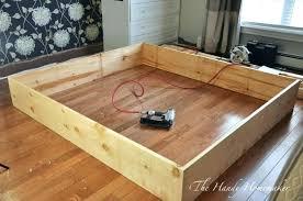 diy bed frame plans build a bed frame build bed frame king size simple bed frame diy bed frame plans
