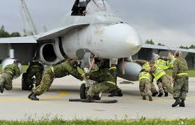 air force vehicle operations operation reassurance central eastern europe canadian armed forces