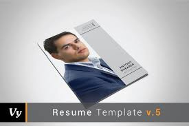 Resume Booklet Template Booklet Resume Template Resume Templates Creative Market 1