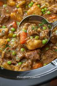crockpot beef stew spend with pennies