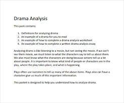 sample character analysis template documents in pdf word drama character analysis template