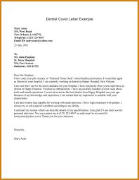 Dental Assistant Cover Letter Letter Format Template