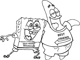 Coloring Pages Spongebob Christmas Free Printable Online New Post