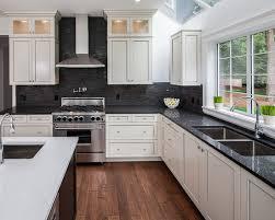 Kitchen Backsplash Tiles With White Cabinets