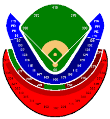 Kauffman Stadium Seating Chart Game Information