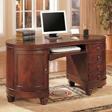 wood home office desks small. Desk:Corner Desk Home Office Dark Wood Computer Small Black Reception Furniture Desks O