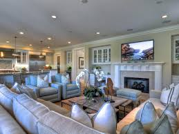 Kitchen Living Room Design Kitchen Open Floor Plan Kitchen And Living Room With Wide