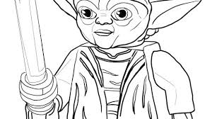 Yoda Coloring Coloring Page Ve Star Wars Colouring Master Free