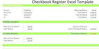 Blank Check Register Template Printable