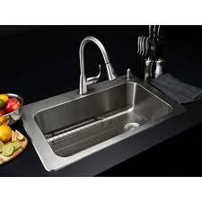 kitchen sinks bar glacier bay sink triple bowl u shaped beige vitreous china flooring backsplash countertops