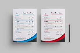 Design An Invoice Creative Stylish Invoice Design Graphic Templates