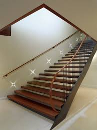 stair lighting ideas. stair lighting ideas staircase contemporary with wood open stairs