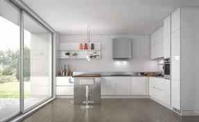 Contemporary White Kitchens Ideas Kitchens - White contemporary kitchen