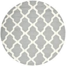 gray round rug gray 4 round rug light gray rug for nursery