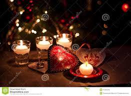 Kindness Christmas Lights Hearts Decorations And Christmas Lights Stock Photo
