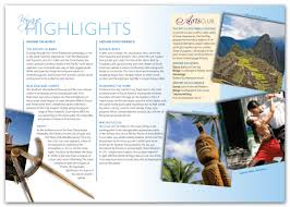 Ideas And Examples For Creating And Designing Tourist Catalogs To