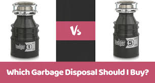 Garbage Disposal Comparison Chart Insinkerator Badger 1 Vs Badger 5 Which Garbage Disposal