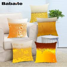 Babaite Bottle of Beer Bubbles Drink Beer Throw Pillow Cases for