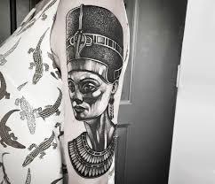 Nefertiti Tattoo By Jackart Tattoo Photo 25038