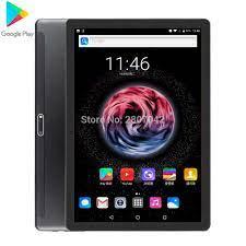 2020 Mới Google Android 9.0 10 Inch Viên Wifi Gọi Điện Thoại Máy Tính Bảng  Dual Sim 32GB 5.0MP Wifi định Vị GPS Viên 10 Miếng Lót Máy Tính Bảng Android