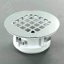 shower floor drain installation concrete shower pan drain installation easy replacement fiberglass shower drain this replacement