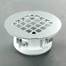 shower floor drain installation concrete shower pan drain installation easy replacement fiberglass shower drain this replacement