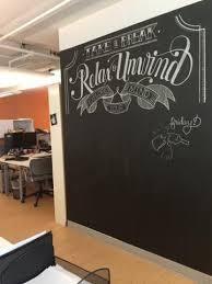 Office Chalkboard Chalkboard In The Back Of The Grafik Marketing Communications
