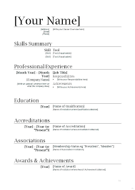 Example Of Resumes For Jobs Simple Example Of Resume Job Resume Example Simple Examples Resumes