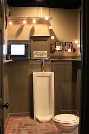 man cave bathroom. Brilliant Bathroom Man Cave Bathroom Gotta Have The Urinal In Man Cave Bathroom A