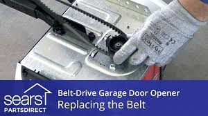 belt drive vs chain drive garage door opener replacing the belt on drive garage door opener