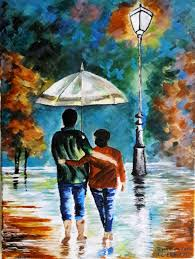 acrylic painting ideas on canvas best of abstract painting couple walking in rain acrylic paint on