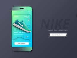 App Slider Design Ani Harutyunyan On Behance Nike App App Design Slider Design