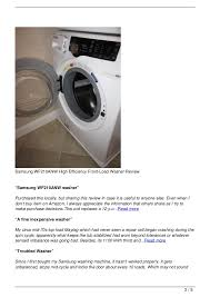 samsung front load washer reviews. Plain Samsung Samsung  For Front Load Washer Reviews