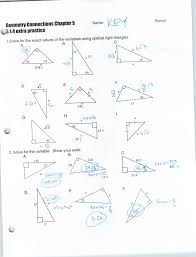 right triangle trigonometry worksheet with answers free worksheets forming and solving equations