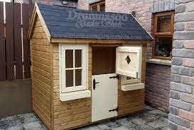 children s adventure storage shed with steps decking area and slide garage with fitted roller door traditional